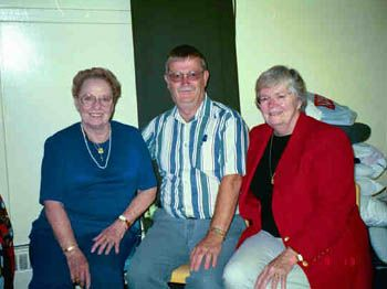 Bill & Thelma Cooper with Shirley Brooks-Jones